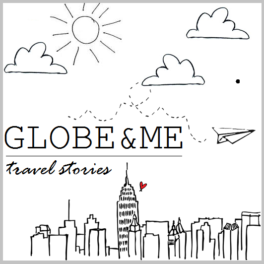 travel stories, globe and me
